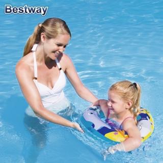 【BESTWAY】海洋世界 兒童游泳圈(共3款海洋生物圖樣)