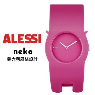 【ALESSI】義大利貓造型錶(膠錶)