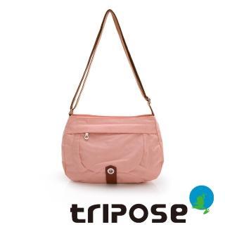 【tripose】微旅系列淑女側肩包-大(櫻花粉)