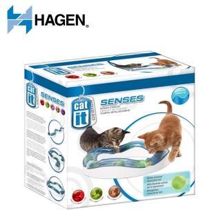 【HAGEN 赫根】CAT IT系列貓咪益智解壓玩具《無限延伸坡地競速場》(50735)