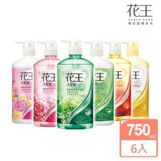 【Kao 花王】暢銷洗髮精/潤髮乳750mlX6入(款式任選)