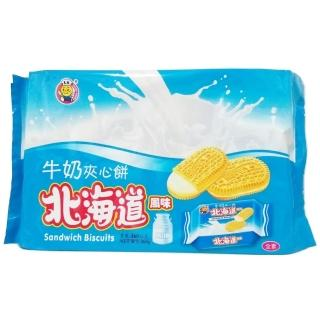 【日日旺】北海道牛奶味夾心餅(360g-全素)