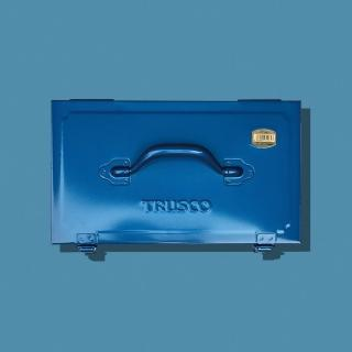 【Trusco】專業型雙層工具箱-上提把-鐵藍(雙層工具箱)