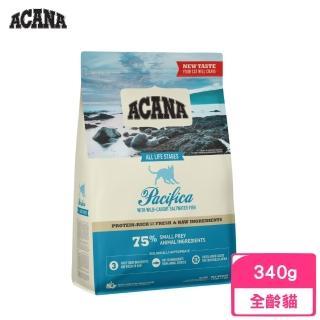 【ACANA 愛肯拿】太平洋饗宴挑嘴貓無穀配方《多種魚玫瑰果》340g