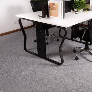 【JLM生活館】時尚拼接方塊吸音隔音地毯地板貼-36片一組「淺灰GR01」(地毯、隔音、吸音、拼接、方塊)
