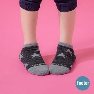 【Footer】潮流星星船短襪(ZH194L-黑)