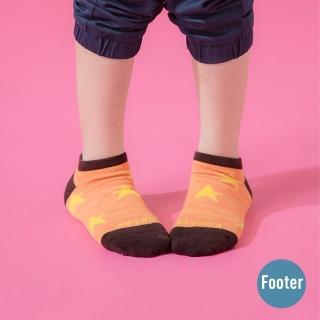 【Footer】潮流星星船短襪(ZH194L-橘)