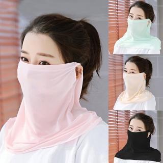 【幸福揚邑】360度防曬涼感抗UV口罩面罩2入組(多款可選)