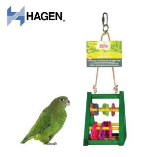 【HAGEN 赫根】Living World 鳥玩具金字塔益智遊戲組-小型(81781)