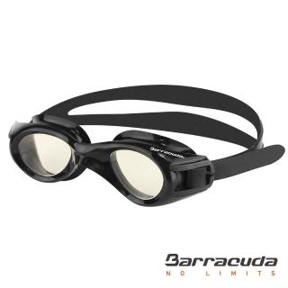 【Barracuda 巴洛酷達】青少年抗UV防霧泳鏡(TITANIUM JR#30935)