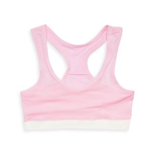 【annypepe】成長型內衣 95%天絲挖背型-粉紅