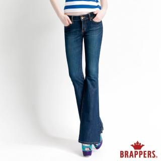 【BRAPPERS】女款 新美腳Royal系列-四面伸縮靴型褲(藍)