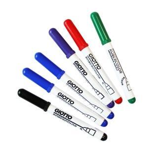 【義大利GIOTTO】兒童專用白板筆6色