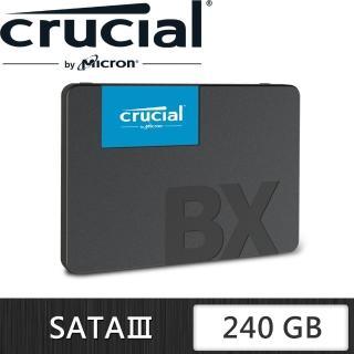【Micron 美光】Crucial BX500 240G SSD 2.5吋固態硬碟