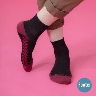 【Footer】彈跳人生微分子薄襪(T42L-黑)