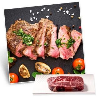 【漢克嚴選-超值買一送一】美國產日本和牛級PRIME雪花凝脂嫩肩牛排8盎司_5片(225g±10%/片-買一送一共10片)