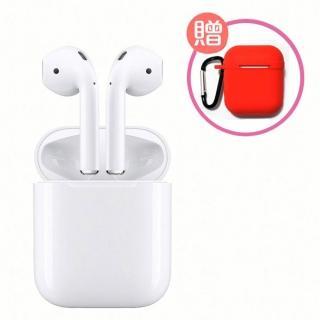 獨家贈保護套+掛繩【Apple】AirPods 藍芽耳機
