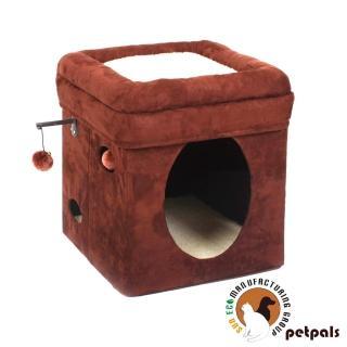 【Petpals】多功能貓窩椅(棕色)