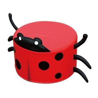 【WISDOM 華森葳】瓢蟲圓凳沙發 ISO9001 外銷幼兒園兒童椅(符合兒童傢俱檢驗合格)