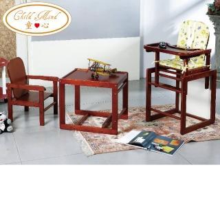 【Child Mind 童心】多功能木製餐椅