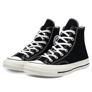 【CONVERSE】康威士- Chuck Taylor All Star'70 帆布 高筒 -黑-162050C(男休閒鞋)
