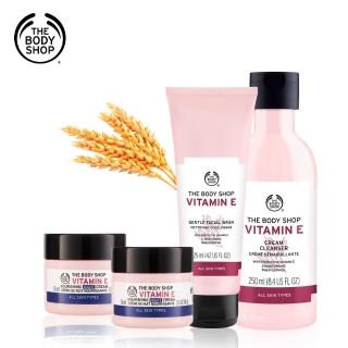 【THE BODY SHOP】維他命E保水修護5件組