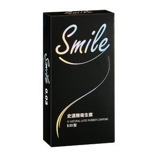 【SMILE 史邁爾】衛生套保險套 003(12入/盒)