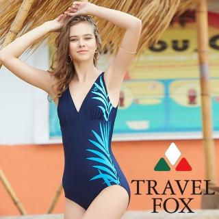 【Summer Love 夏之戀】TRAVEL FOX連身三角泳衣(C18703)