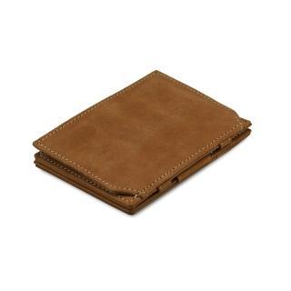 比利時 GARZINI 翻轉皮夾/零錢袋款/淺棕色(皮夾)