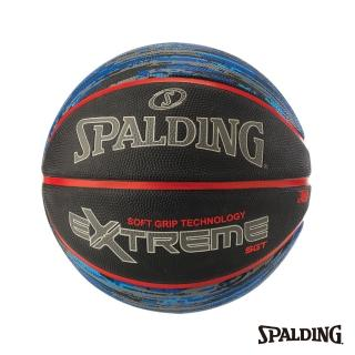 【SPALDING】斯伯丁 籃球 SGT 深溝柔軟膠 Rubber(星際藍)