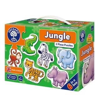 【Orchard Toys】第一組拼圖-叢林動物(Jungle Jigsaw Puzzle)