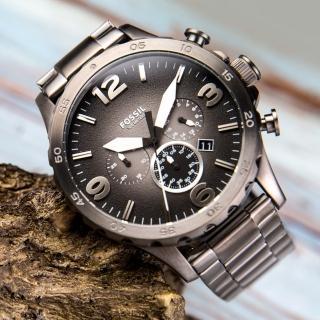 【FOSSIL】粗曠風格大錶徑個性腕錶(JR1437)