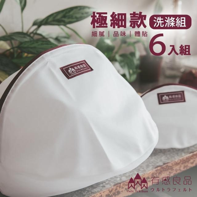 【有感良品】洗衣袋極細款洗滌優惠組(6件組)/