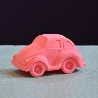 【西班牙Oli & Carol】摩登小金龜車-粉紅(沐浴玩具)