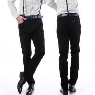 【RH 紳士品格】經典修身款舒適型彈力褲-97330(彈力舒適型 全尺碼S-3L)