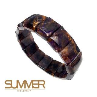 SUMMER 貴人致富珍稀紫鈦手排