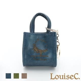 【LouiseC.】MINI TOTE鑰匙包 - 藍色(34C13-0033A09)