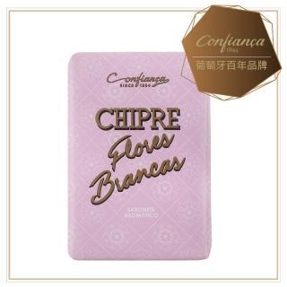 【Confinaca 恭菲卡】CHIPRE FLORES BRANCAS 馥朵芬芳保養皂100g(100%植物皂 玫瑰、茉莉、山百合等花香調)