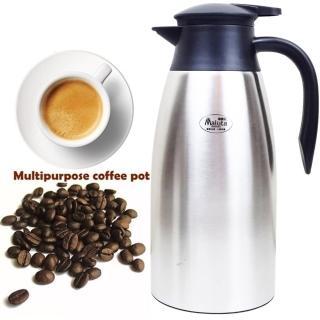 【台灣Malta瑪露塔】真空不銹鋼保溫壺2000ml/咖啡壺(隨機出貨)