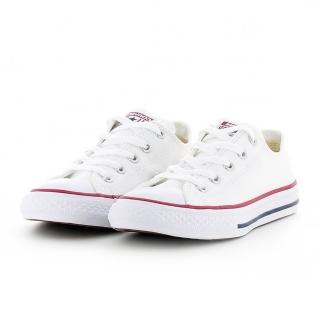 【CONVERSE】Chuck Taylor All Star Seasonal 白 中大童 休閒鞋(3J256C)