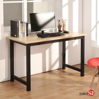 【LOGIS】LOGIS極簡工業風黑腳桌(工作桌 長桌 電腦桌 辦公桌)