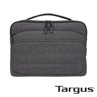 【Targus】Groove X2 Slimcase 13 吋躍動電腦側背包(碳黑)