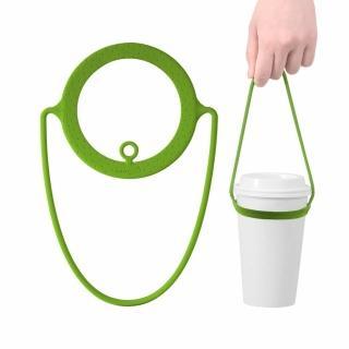 【Bone】Cup Tie 環保杯綁 飲料提袋(環保矽膠飲料袋)