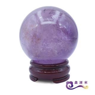 【鑫運來】有求必應智慧紫水晶球(6-7 cm)