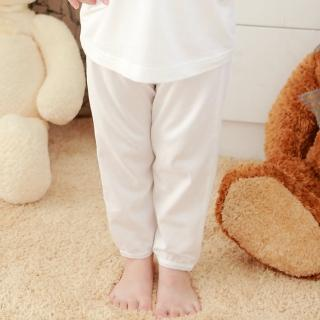 【annypepe】純棉長褲-花邊款(2色)