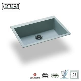 【MIDUOLI米多里】ELLECI QUADRA110 金屬結晶石水槽(組)