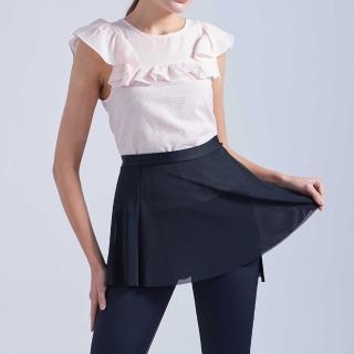 【TOP SNOW】網紗裙襬百搭大A襯裙-1入(腰圍可調 25腰~40腰皆可穿)