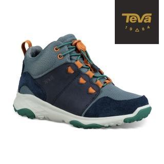 【TEVA】小童/大童 Arrowood 2 Mid WP 中筒防潑水休閒鞋(午夜海軍藍-TV1093994CMDNV/TV1093994YMDNV)