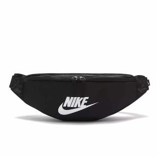 【NIKE 耐吉】腰包 Sportswear Heritage 隨身小包 基本款 輕便 街頭潮流穿搭 黑 白(BA5750-010)