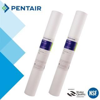 【怡康】PENTAIR 標準20吋小胖1微米PP棉濾芯-2支組